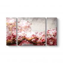 Pink Color Tree Tablo