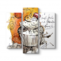 Cupcake Çizim Tablosu
