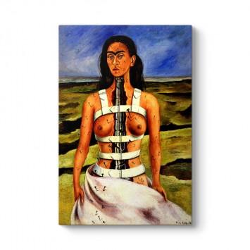Frida Kahlo - The Broken Column Tablosu