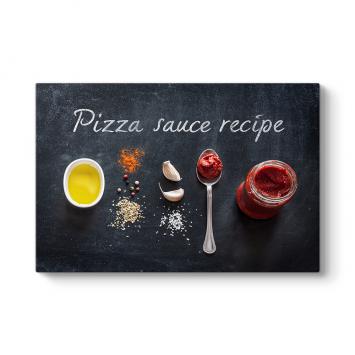Pizza Sosu Tarifi Tablosu