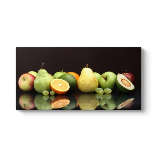 Meyvelerin Yansıması Tablosu