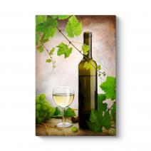 Beyaz Şarap Tablosu