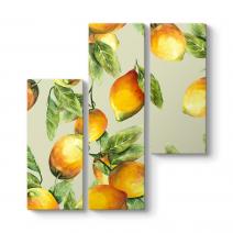 Dalında Limonlar Tablosu