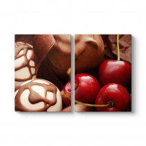 Çikolata ve Kiraz Tablosu