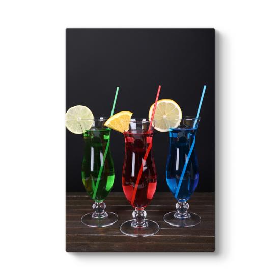 Renkli Kokteyller Tablosu