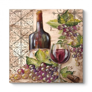 Şarap Vintage Tablo
