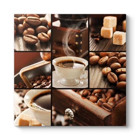 Kahve Kolaj Tablo