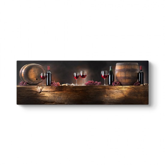 Şarap Panorama Tablo
