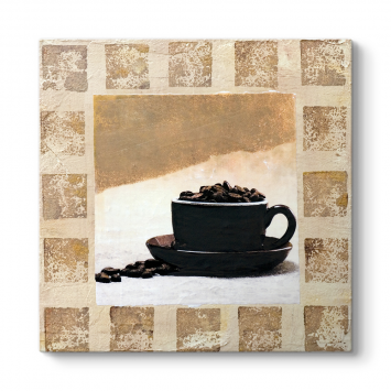 Kahve Malerei Tablosu