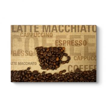 Kahve Çekirdekleri Tablosu