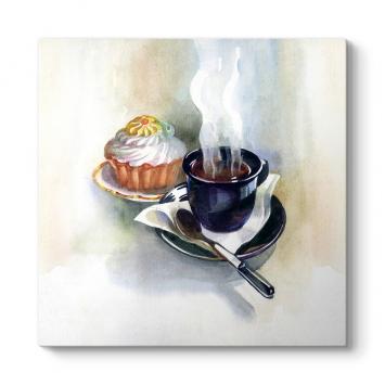 Kahve ve Pasta Tablosu