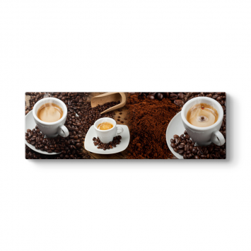 Kahve Panorama Tablo