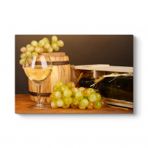 Beyaz Şarap ve Üzüm Tablosu